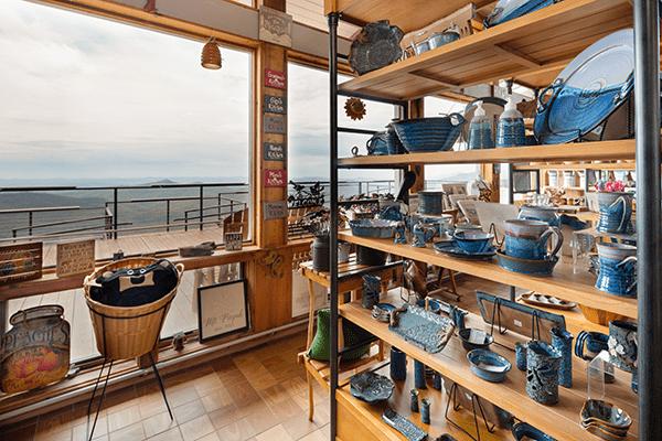 Pisgha Inn Craft shop